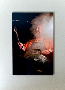 """The BBQ King"" - A favorite portrait of mine is positioned in the studio so it receives the right amount of indirect light all day."