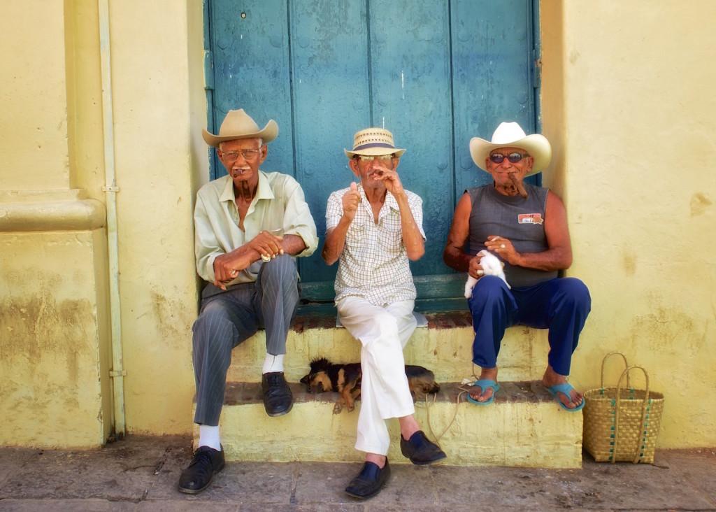 Three Amigos, Trinidad Cuba - Photos by Derrick Story