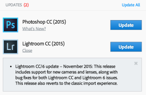"Adobe restores ""the classic import experience"" with today's Lightroom update."