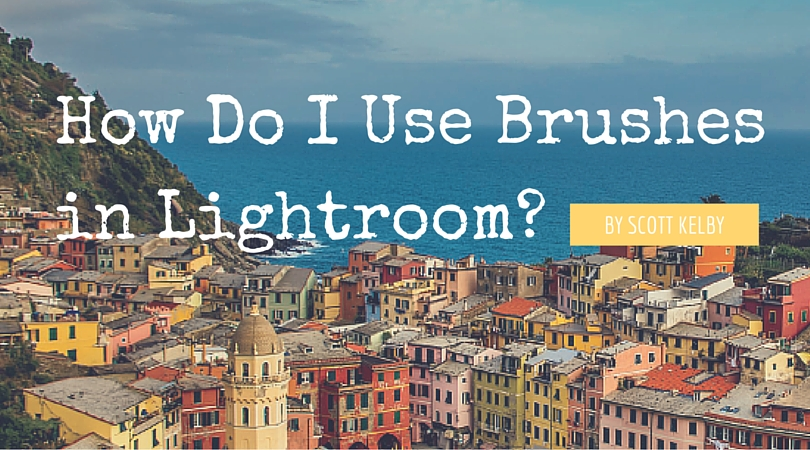 How Do i use brushes in lightroom-
