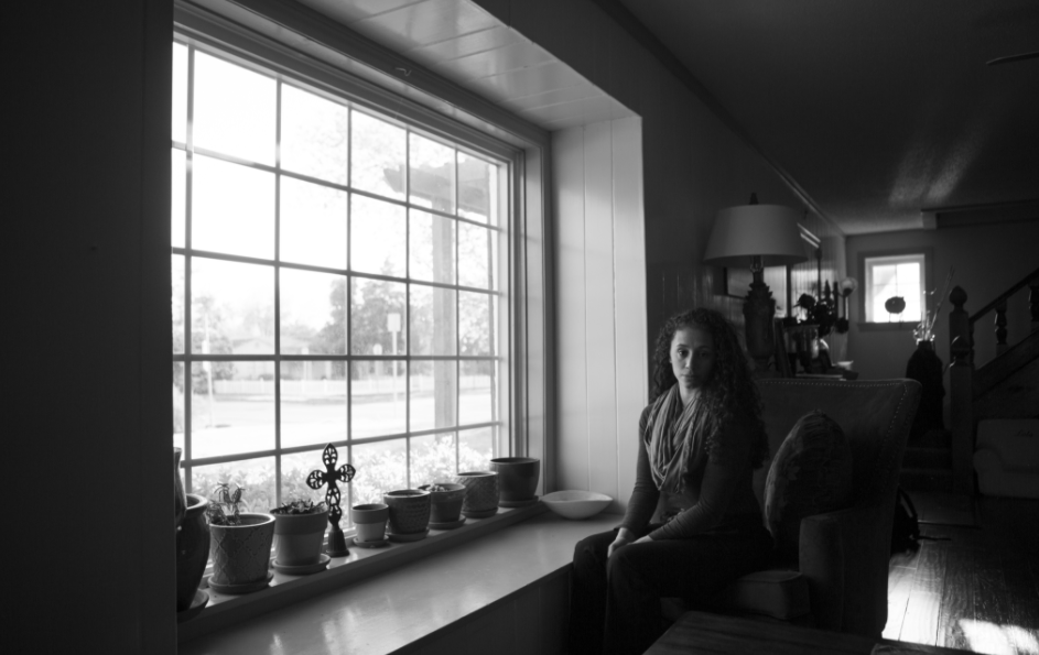 The closer your subject is to a light source (such as a window), the softer the light will be. I'm attracted to photographing my subject at one end of large windows so they can be turned in to the expanse of light. © Jerod Foster